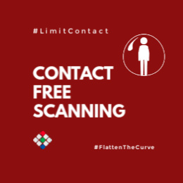 Contact Free Scanning Website copy